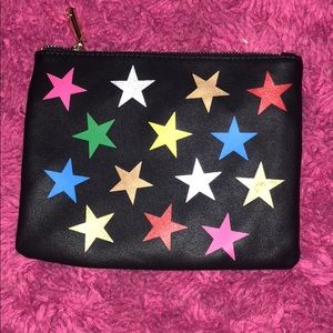 Charming Charlie star zip bag